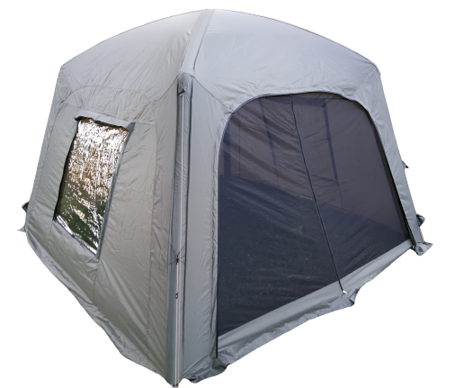 Q-dome fishing screenhouse